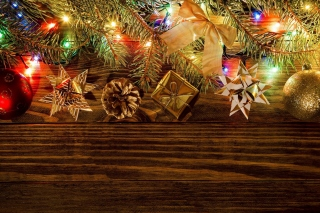 New Year Decorations Background for Android, iPhone and iPad