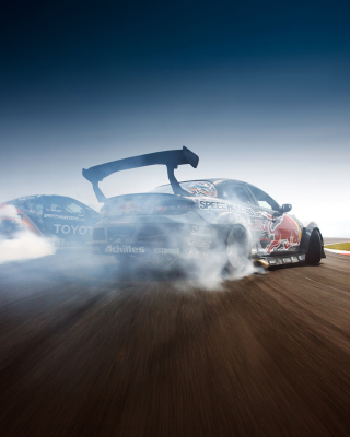 Mazda Rx-8 Drift Background for 480x800