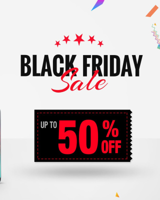 Black Friday papel de parede para celular para iPhone 4S