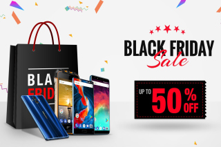 Kostenloses Black Friday Wallpaper für Android, iPhone und iPad