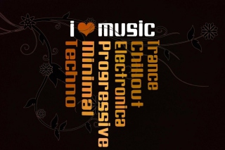I Love Music Picture for Android, iPhone and iPad