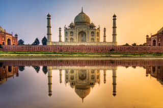 Taj Mahal India Wallpaper for Android, iPhone and iPad