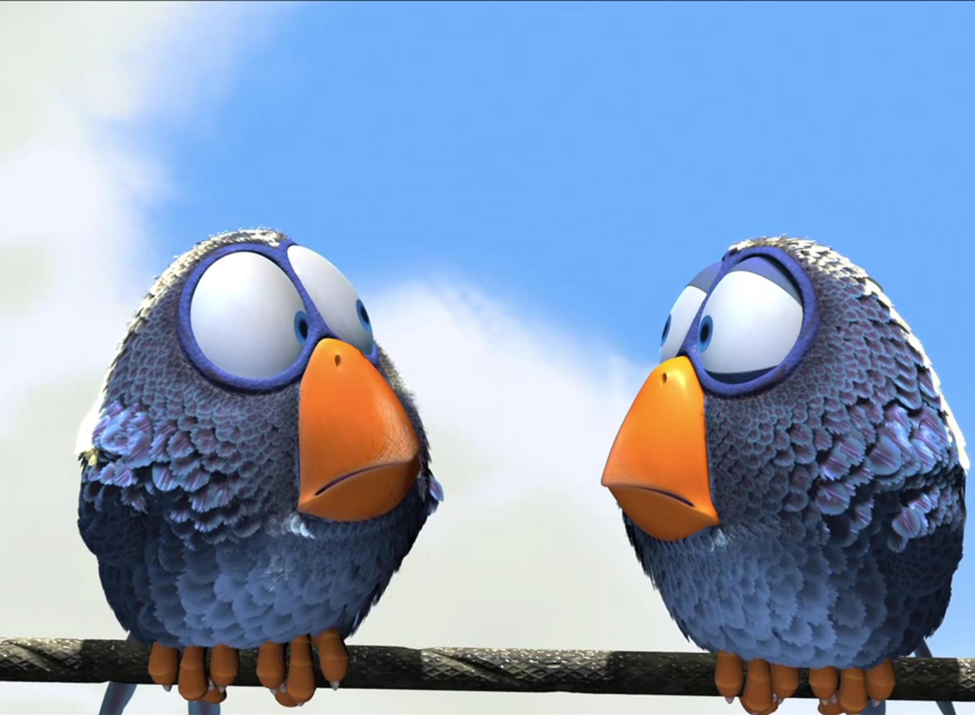 Картинки птичек с надписями