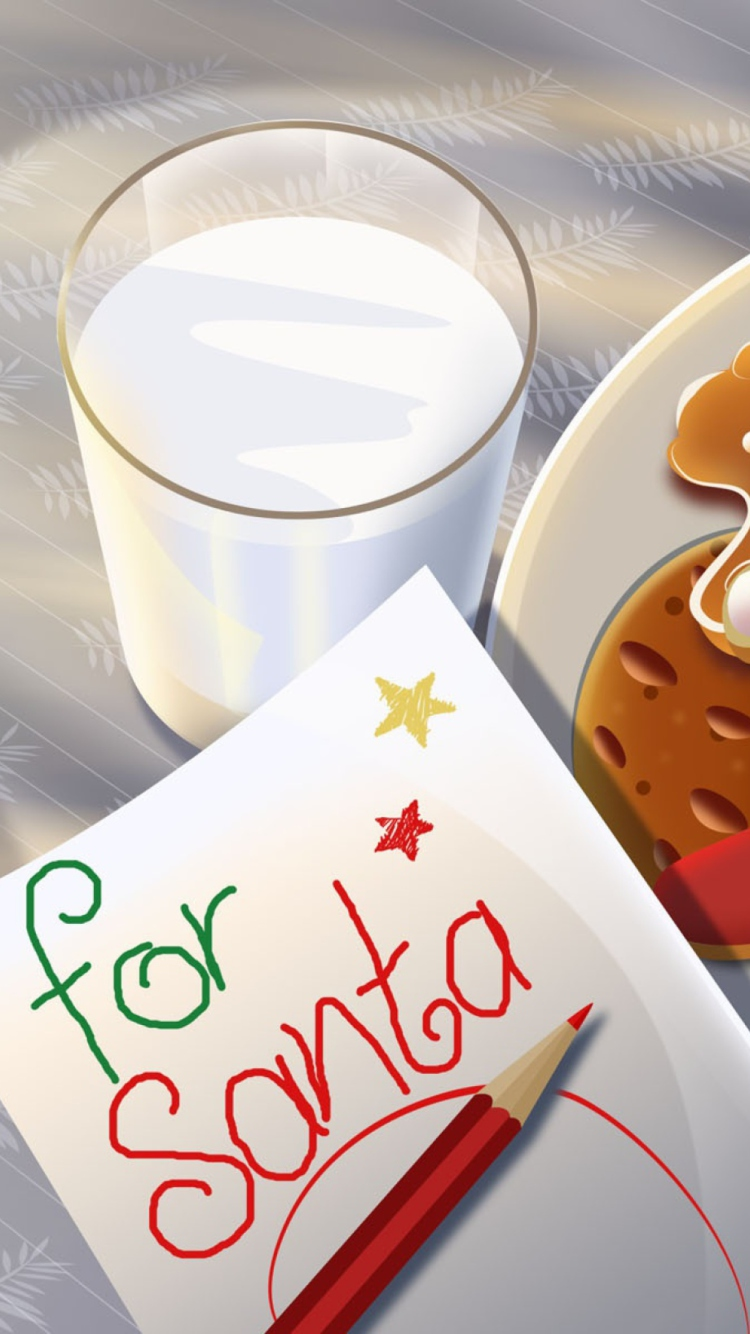Screenshot №1 pro téma Sweets For Santa 750x1334