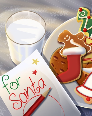 Sweets For Santa - Fondos de pantalla gratis para iPhone 3G