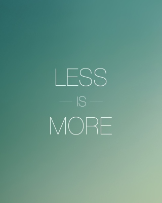 Less Is More sfondi gratuiti per 640x960