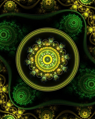 Celtic Flower Wallpaper for HTC Titan