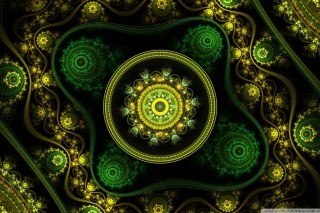 Celtic Flower Wallpaper for Android, iPhone and iPad