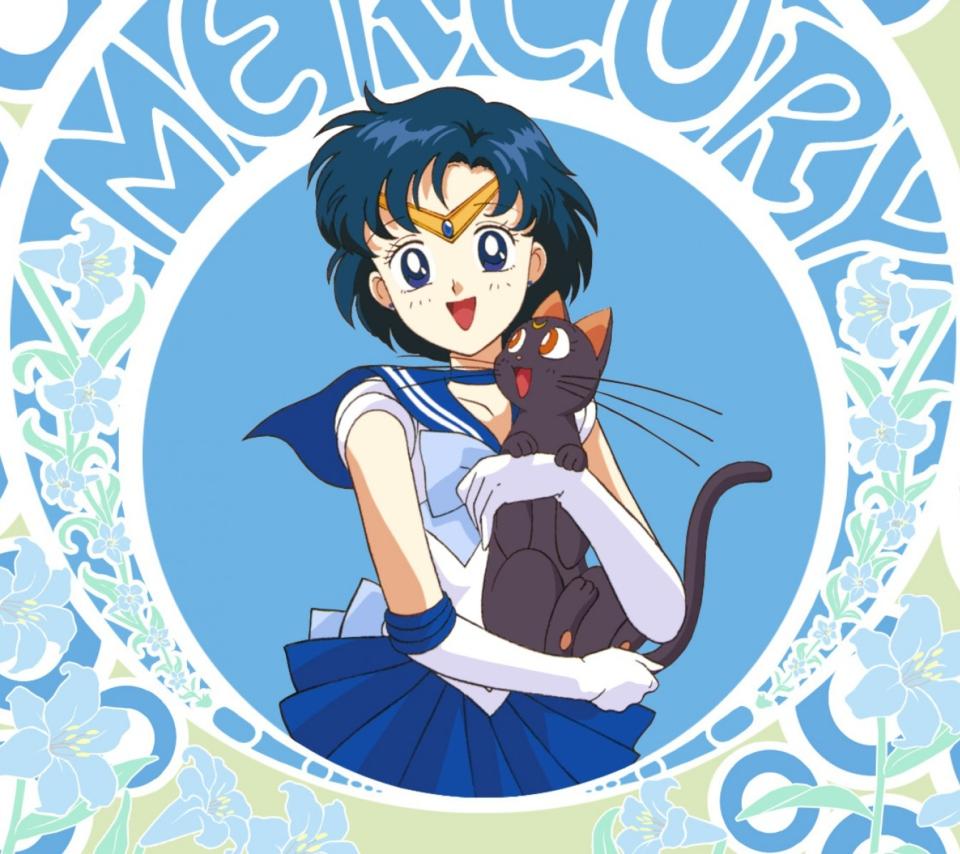 Sailor Moon With Cat para Sony Ericsson XPERIA PLAY