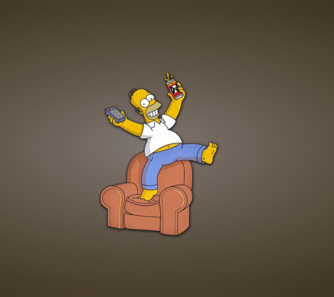 Homer Simpson para Motorola RAZR XT910