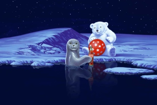 Seal Bear And Cola - Fondos de pantalla gratis