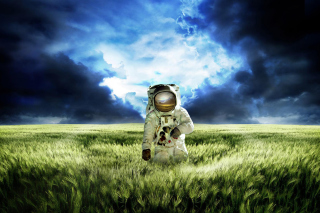 Astronaut On New Planet - Fondos de pantalla gratis