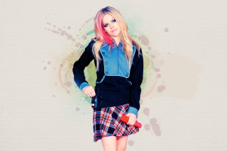 Free Avril Lavigne Picture for Android, iPhone and iPad