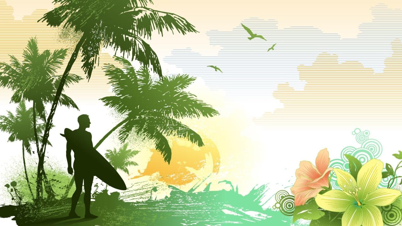 Tropical Vector Art