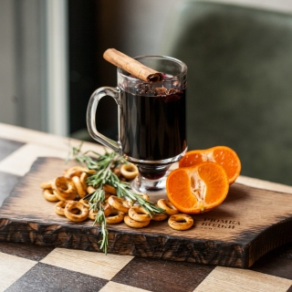 Hot Mulled Wine sfondi gratuiti per iPad 3
