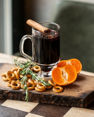 Hot Mulled Wine sfondi gratuiti per iPhone 4S