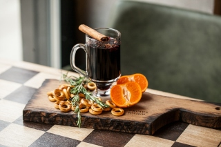 Hot Mulled Wine Background for 1080x960