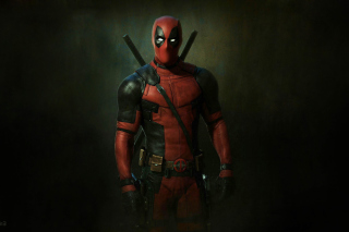 Deadpool Superhero Background for Android, iPhone and iPad