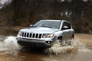 2012 Jeep Compass Silver sfondi gratuiti per cellulari Android, iPhone, iPad e desktop