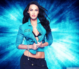 Megan Fox Blue papel de parede para celular para iPad mini