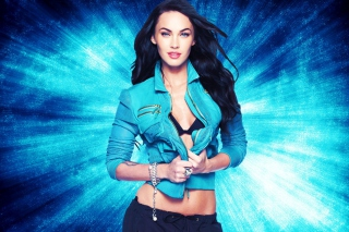 Free Megan Fox Blue Picture for Android, iPhone and iPad