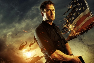Gerard Butler In Olympus Has Fallen Background for Android, iPhone and iPad