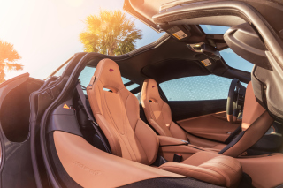 Mclaren MSO 720S Coupe Interior sfondi gratuiti per cellulari Android, iPhone, iPad e desktop