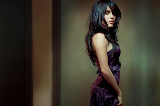 Brunette with beautiful hair - Obrázkek zdarma pro Widescreen Desktop PC 1600x900