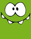 Screenshot №1 pro téma Om Nom from game Cut the Rope 128x160
