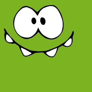 Om Nom from game Cut the Rope - Obrázkek zdarma pro iPad Air