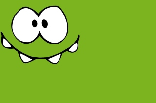 Om Nom from game Cut the Rope - Fondos de pantalla gratis para HTC Desire