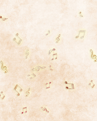 Music Notes Background for iPhone 6 Plus
