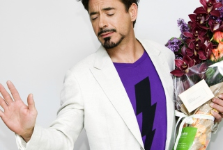 Robert Downey Jr Wallpaper for Android, iPhone and iPad