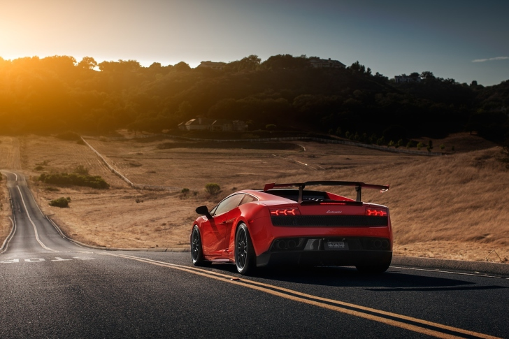 Lamborghini Gallardo LP 570-4 Superleggera wallpaper