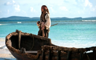 Kostenloses Captain Jack Sparrow Wallpaper für Sony Xperia Tablet Z