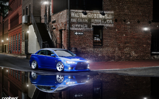 Mitsubishi Lancer Еvo 10 Wallpaper for Android, iPhone and iPad