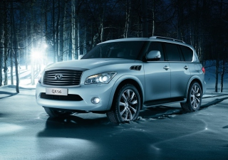 Infiniti Qx56 Background for Android, iPhone and iPad