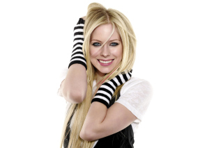 Avril Lavigne Poster Wallpaper for Android, iPhone and iPad