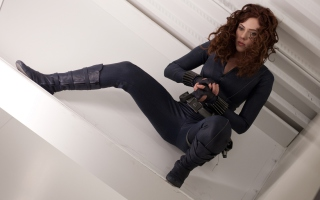 Scarlett Johansson As Black Widow - Fondos de pantalla gratis