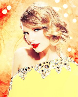 Taylor Swift In Sparkling Dress Picture for HTC Titan