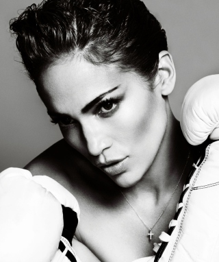 Free Jennifer Lopez Boxing Picture for 128x160