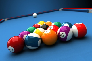 Billiard Pool Table - Obrázkek zdarma pro Widescreen Desktop PC 1600x900