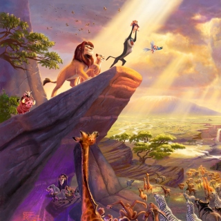 The Lion King sfondi gratuiti per iPad Air