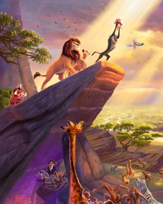 The Lion King sfondi gratuiti per iPhone 4S