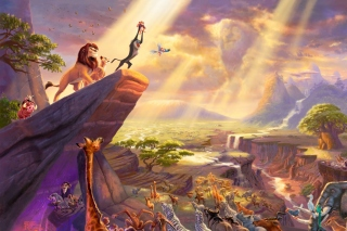 The Lion King Background for Desktop 1280x720 HDTV