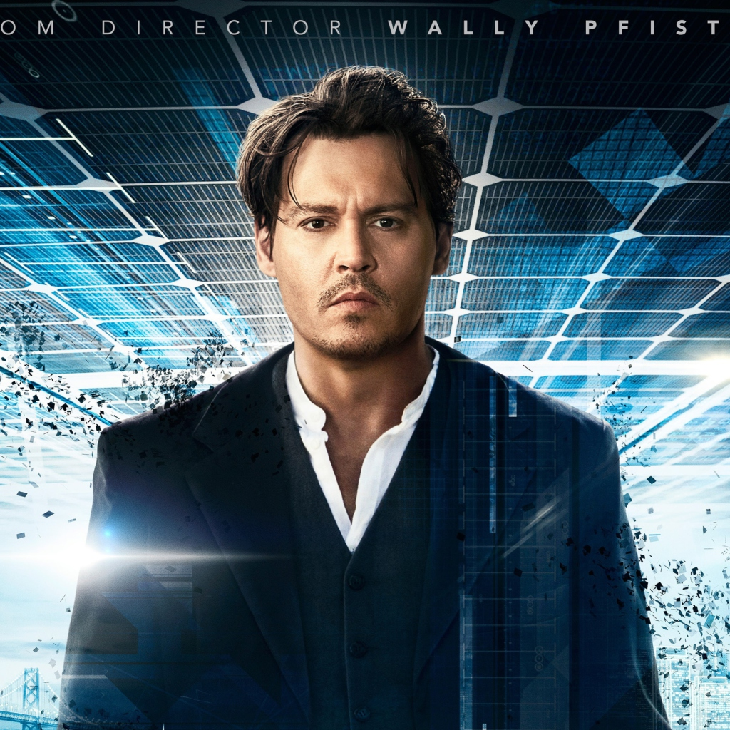 Screenshot №1 pro téma Johnny Depp In Transcendence 1024x1024