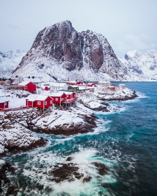 Lofoten Islands Background for iPhone 6 Plus