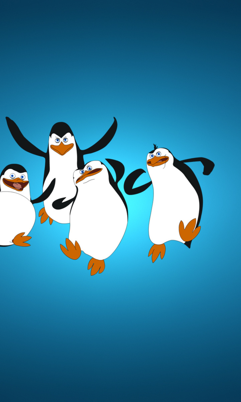 Sfondi The Penguins Of Madagascar 768x1280