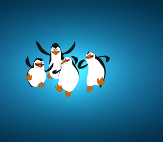 The Penguins Of Madagascar Background for iPad mini