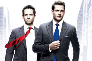 Suits, Gabriel Macht, Patrick J Adams papel de parede para celular
